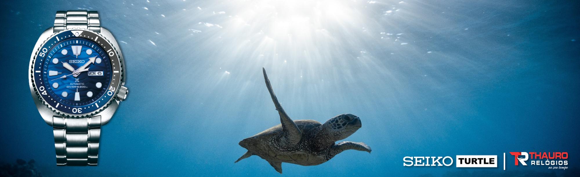 Seiko Turtle