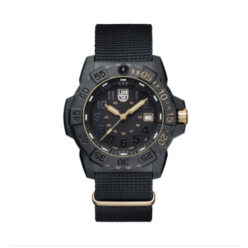 Relógio Luminox Navy SEAL - 3501 GOLD SET Edição Limitada Militar