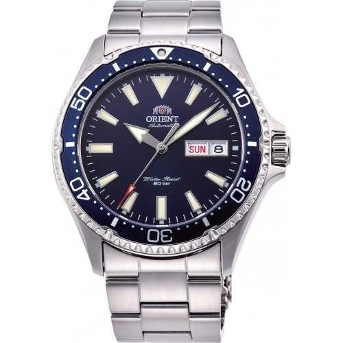Relógio Automático Orient Mako III RA-AA0002L19B Azul Diver 200m