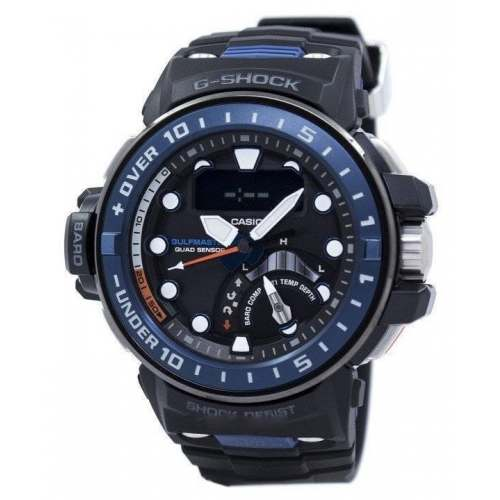 Relógio Casio G-SHOCK GWN-Q1000A-1AJF  Gulfmaster Analógico Solar