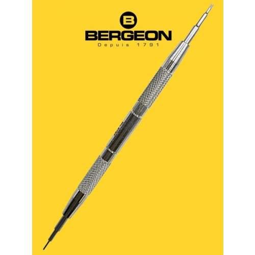 Chave Bergeon 6767-F Suíça - Para troca de Pulseiras - Spring Bar Tool