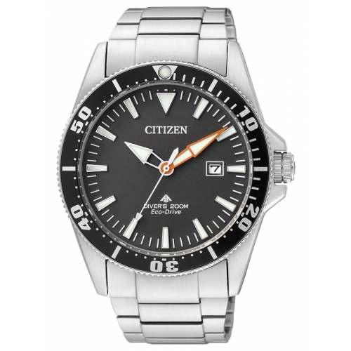 Citizen BN0100-85E Excalibur Diver 200M Preto Caixa 44mm Importado