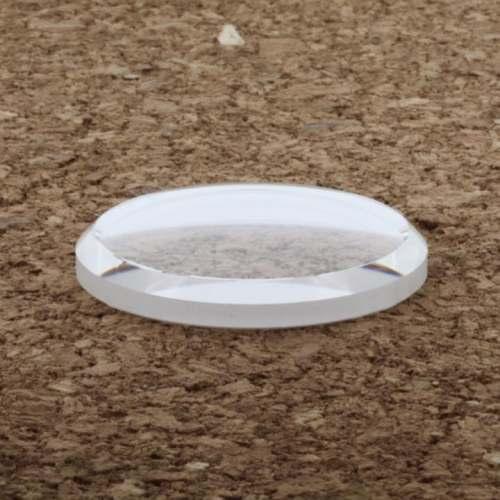 Safira Double Dome - Linha Seiko SKX007 SKX009 MOD