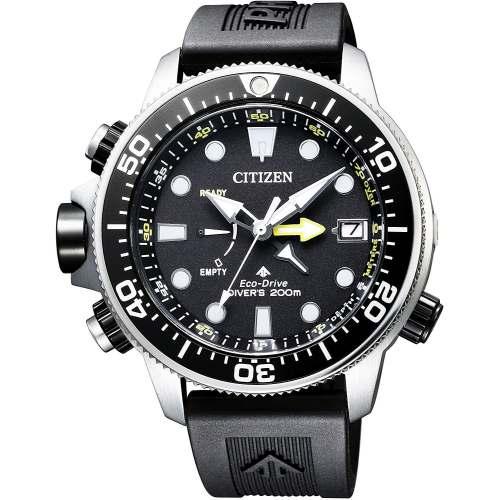 Lançamento 2019 Relógio Citizen Aqualand Promaster BN2036-14E Eco-Drive