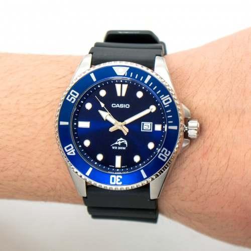 Relógio Casio DURO MDV106B-2A Marlin Azul 200M - Campeão em Custo Benefício