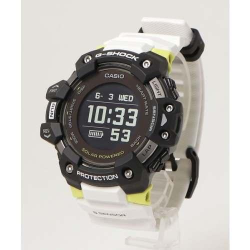 Novo Casio GBDH1000-1A7 G-SQUAD Preto e Branco + GPS + SOLAR - Smartwatch