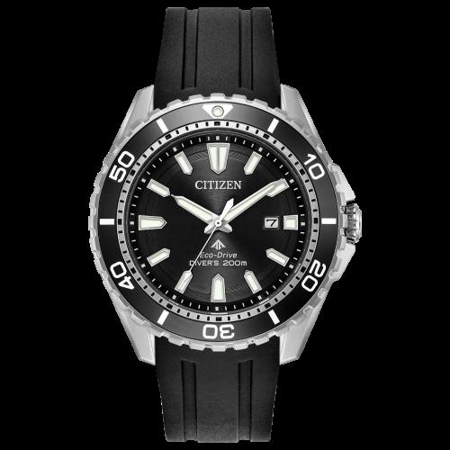 Relógio Citizen BN0190-07E Promaster Diver Black Dial Eco-drive