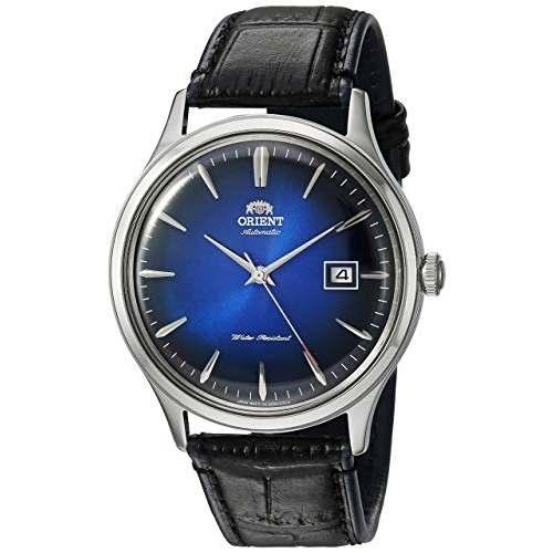 Relógio Automático Orient Bambino V4 FAC08004D0 Azul + Hack