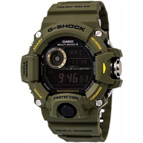 Relógio Casio G-Shock GW 9400-3 Verde Oliva Rangeman