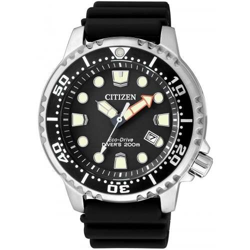 Relógio Citizen BN0150-28E Promaster Marine Diver 200m Eco-Drive Preto