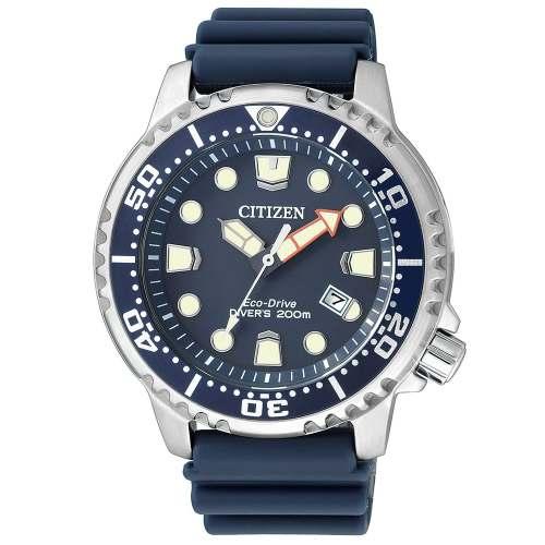Relógio Citizen BN0151-17L Promaster Marine Frog Azul Diver 200m Eco-drive