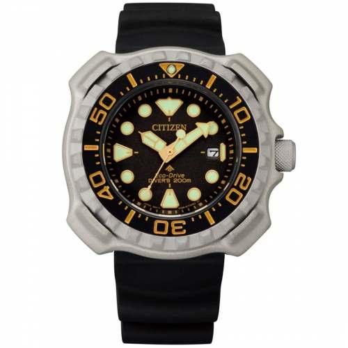 Relógio Citizen BN0220-16E Tuna Promaster Marine Series Titanium Diver 200m Eco-Drive 46,5mm