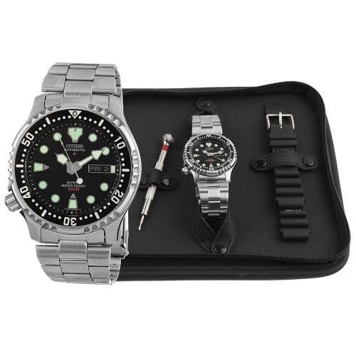 Relógio Citizen Diver Promaster Automático NY0040-09EEM + Kit Pulseiras