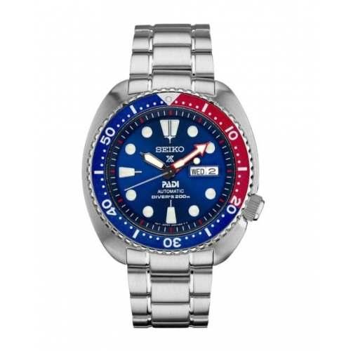 Relógio de Mergulho Seiko PADI Turtle SRPA21K1 Diver Automático