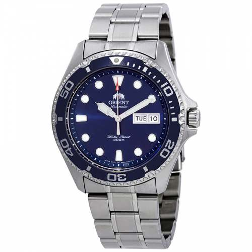 Relógio Orient Ray Diver FAA02005D9 Azul Masculino 200M