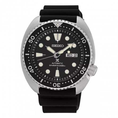 Relógio Seiko Automático SRP777 Black  Turtle Diver 200m