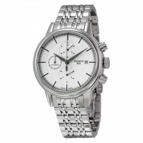 Relógio Suíço Tissot Carson T0854271101100 Automático Cronógrafo ETA