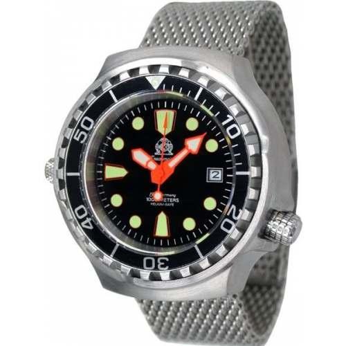 Relógio TAUCHMEISTER T0079MIL Automático 1.000M Pulseira Mesh