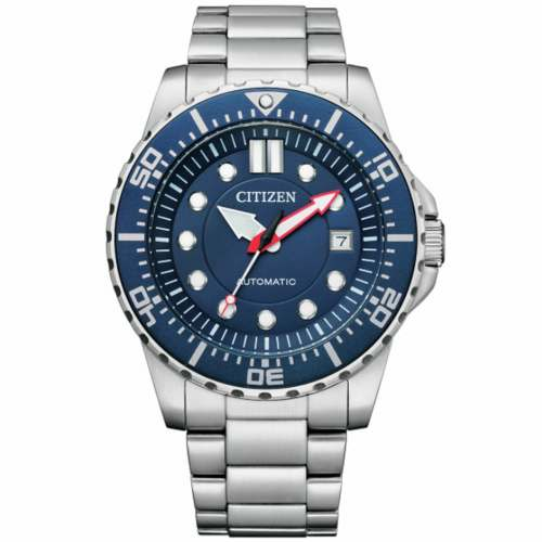 Relógio Citizen Automático NJ0121-89L Azul Promaster 100M Caixa 43mm