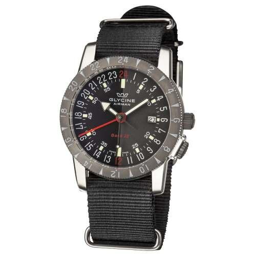 Relógio Glycine 24 Horas GL0211 Airman Base 22 GMT - Automático 200M