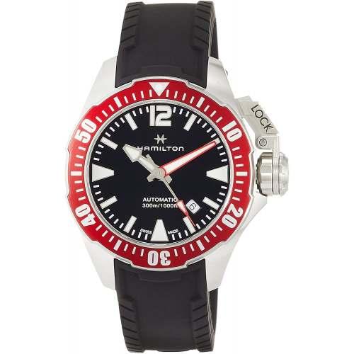 Relógio Hamilton H77725335 Khaki Navy Frogman Diver 300M Automático