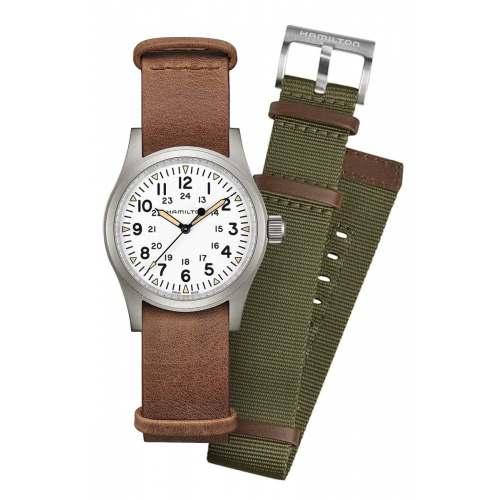 Relógio Hamilton Khaki H69439512 Field Mechanical - Kit Colecionador