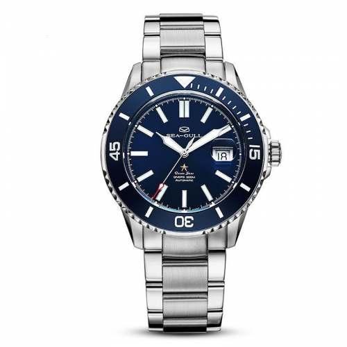 Relógio Seagull Ocean Star - 816.523 - Automático Diver 200M