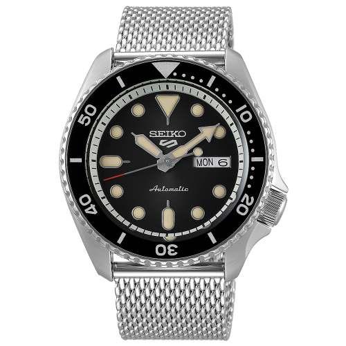 Relógio SEIKO 5 Sports SRPD73 Automático + Pulseira Mesh em aço