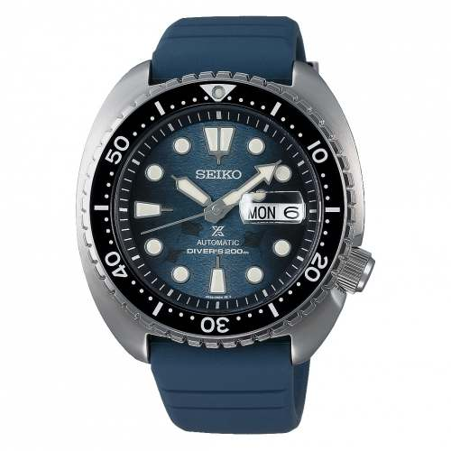 Relógio Seiko King Turtle SRPF77 Dark Manta Ray Calibre 4R36 Automático 200M
