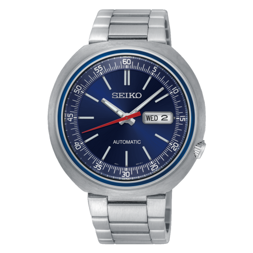 Relógio Seiko SRPC09K1  Recraft UFO Automático Fundo Azul 100M