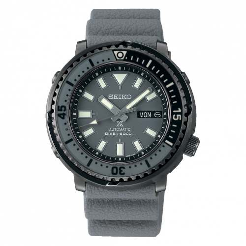 Relógio Seiko SRPE31K1 Urban Safari Grey Automático Diver 200M