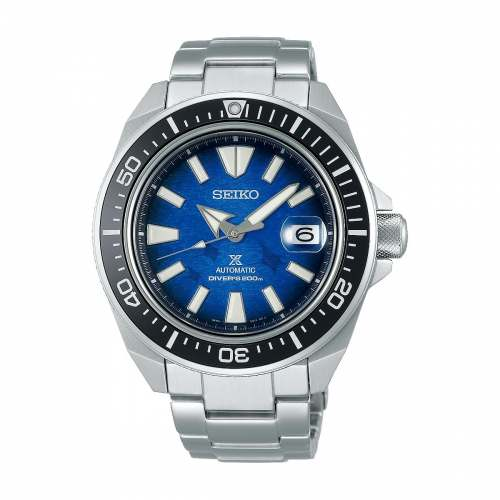 Relógio Seiko SRPE33K1 King Samurai Manta Ray - Edição Save The Ocean 2020