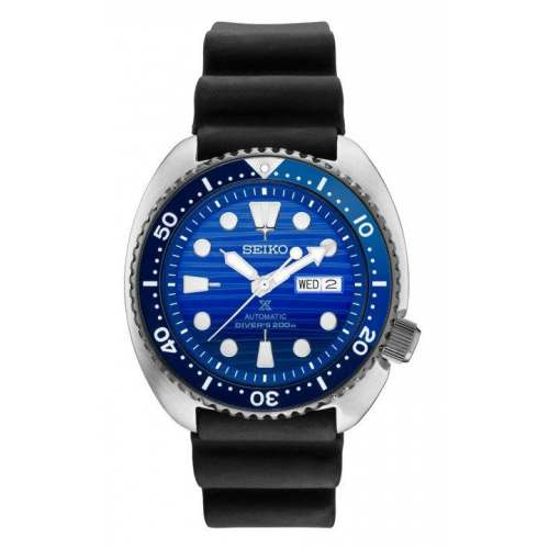Relógio Seiko Turtle SRPC91 Save The Ocean Automático Diver 200M