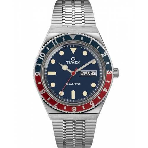 Relógio Timex Q Diver Reissue 38mm TW2T80700ZV - Quartz Importado