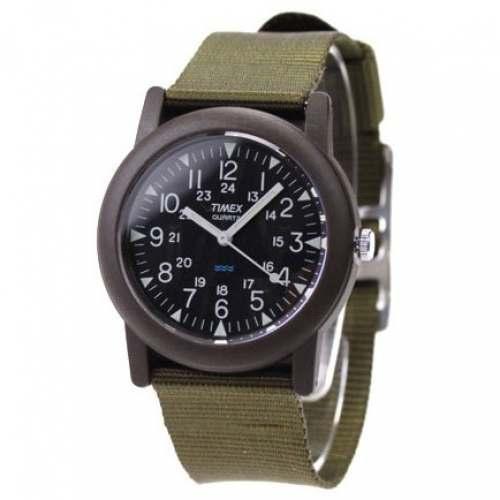 Relógio Timex T41711 Camper Khaki - Filme Sul-Coreano #ALIVE Zumbis 2020