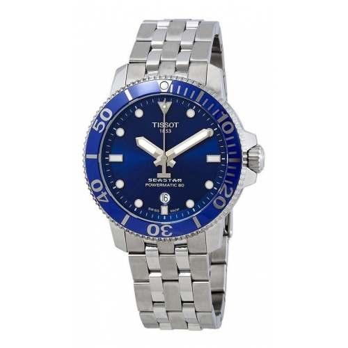 Relógio Tissot Seastar 1000 T120.407.11.041.00 Diver Automático Azul
