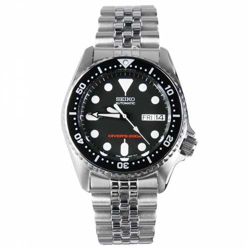 Relógio Seiko SKX013K2 Automático Diver Masculino Preto