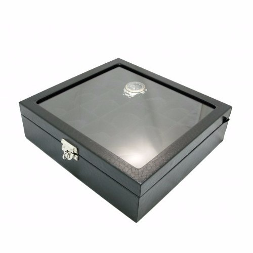 4bd3f9f4ff8 Estojo De Luxo Porta Relógios De Coleção 15 Slots com Vidro