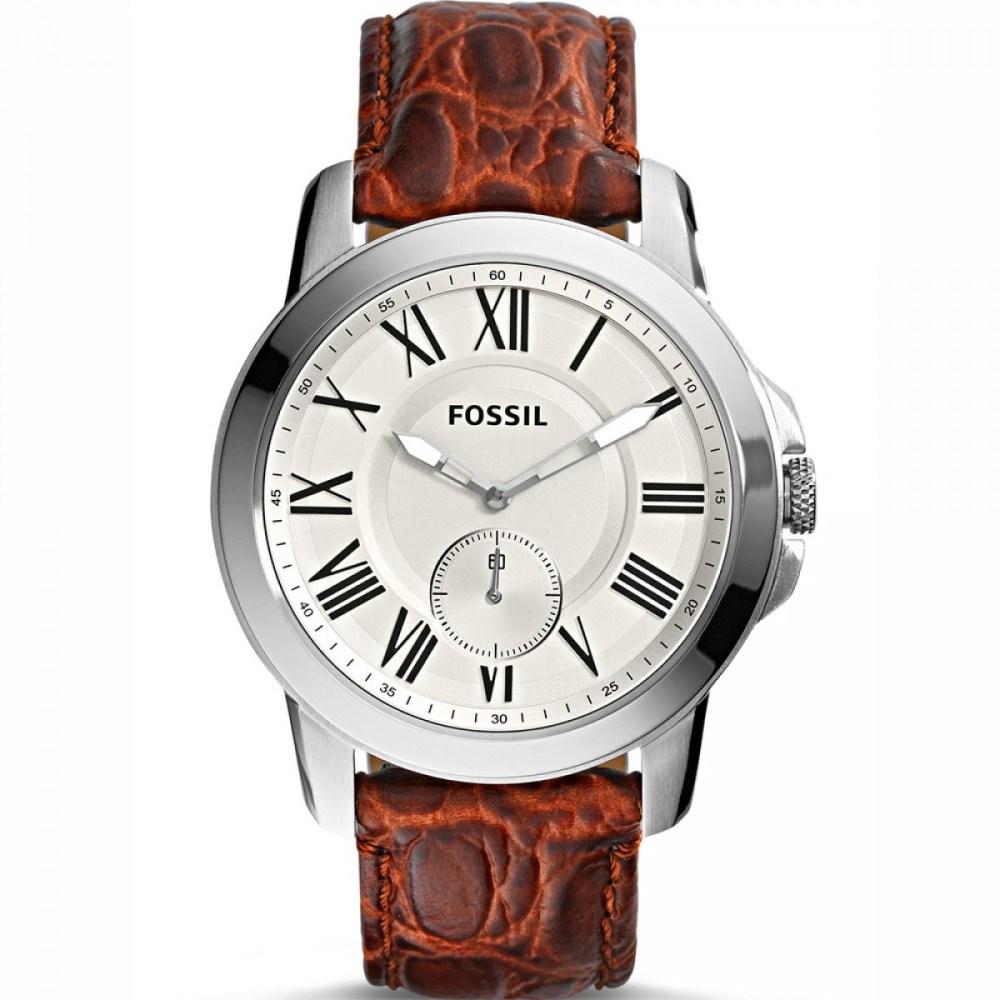8178e60cb4f Relógio Fossil Masculino Grant FS4963 0XN Social Slim Couro